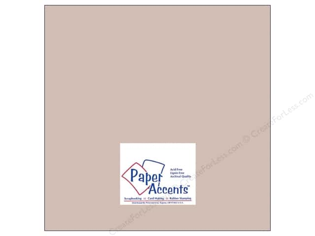 Cardstock 12 x 12 in. #8078 Muslin Hurricane by Paper Accents (25 sheets)