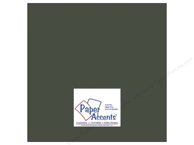 Cardstock 12 x 12 in. #8080 Muslin Midnight by Paper Accents (25 sheets)