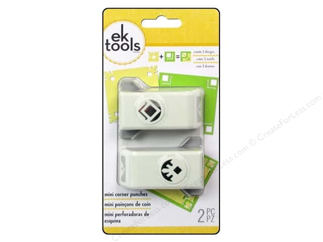 EK Paper Shapers Mini Corner Punch Empire 2pc