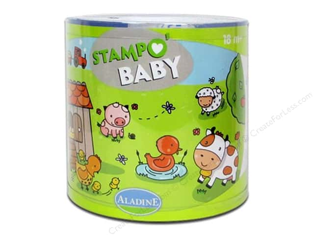 Aladine StampO' Baby Stamps Farm