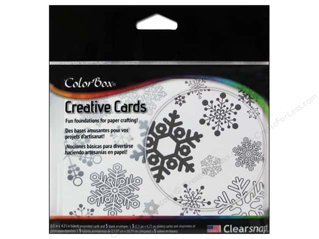 ColorBox Creative Cards and Envelopes Winter