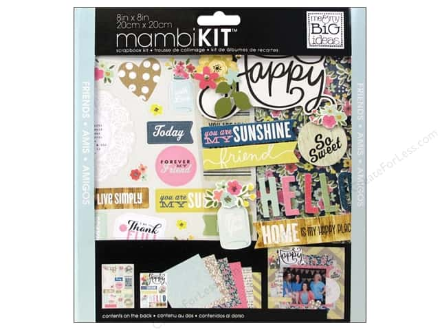 Me & My Big Ideas 8 x 8 in. Scrapbook Kit You Are My Sunshine