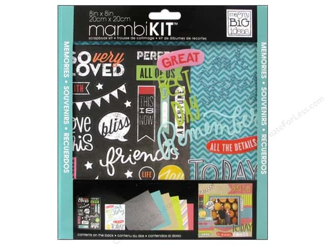 Me & My Big Ideas 8 x 8 in. Scrapbook Kit This is Now