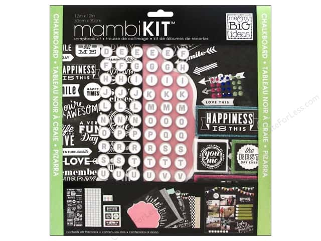 Me & My Big Ideas 12 x 12 in. Scrapbook Kit Happiness Is This