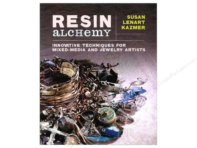Interweave Press Resin Alchemy Innovative Techniques Book