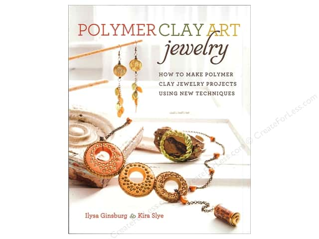 Krause Publications Polymer Clay Art Jewelry Book
