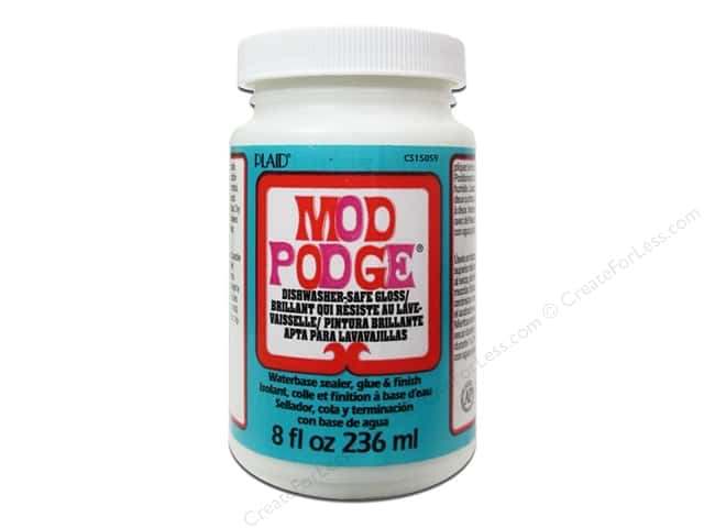 Plaid Mod Podge Dishwasher Safe Gloss 8oz
