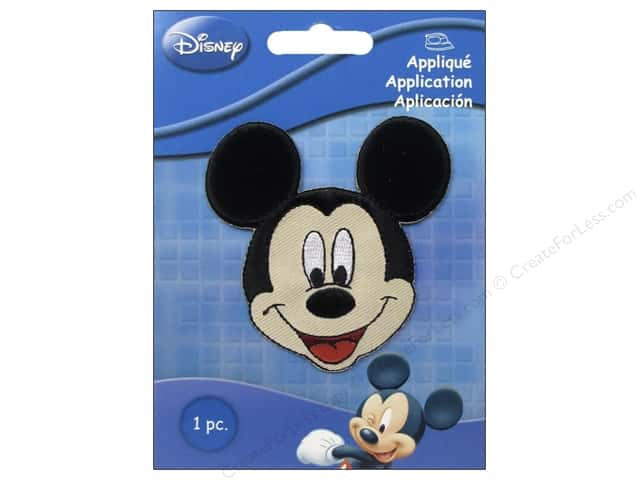 Simplicity Disney Iron On Appliques Small Mickey Mouse