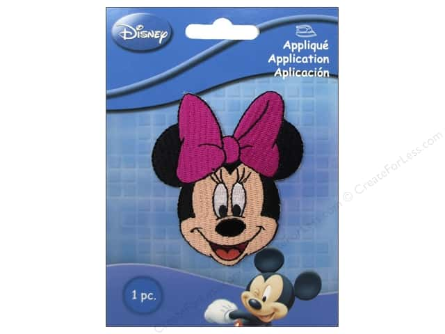 Simplicity Disney Iron On Appliques Small Minnie Mouse