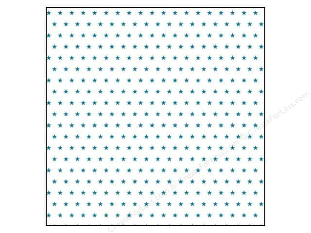 Crate Paper 12 x 12 in. Paper Boys Rule Vellum Stars (25 sheets)
