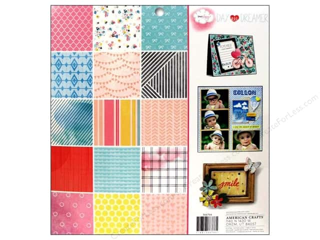 American Crafts Paper Pad 12 x 12 in. Dear Lizzy Daydreamer