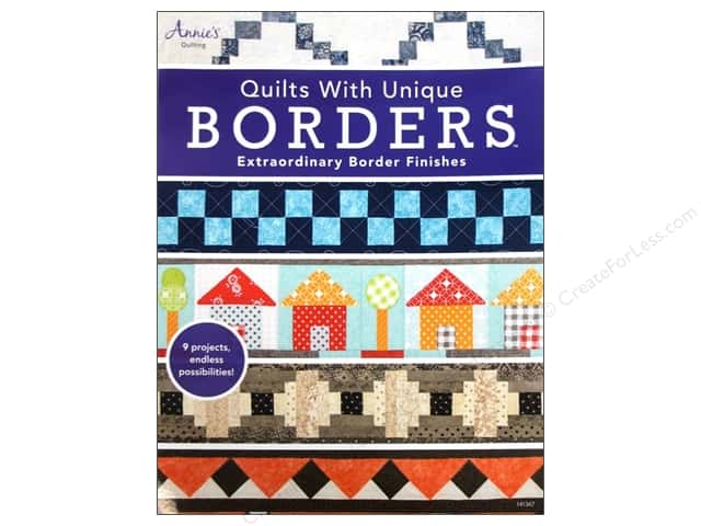 Annie's Quilts With Unique Borders Book