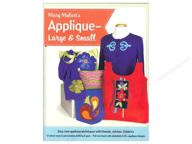 Mary Mulari Applique Large & Small Book