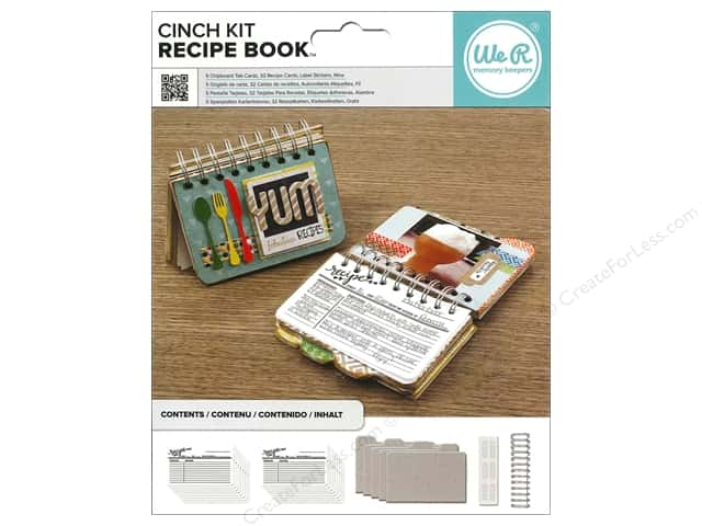 We R Memory The Cinch Kit Recipe Book