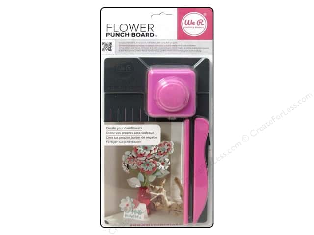 We R Memory Tool Punch Board Flower