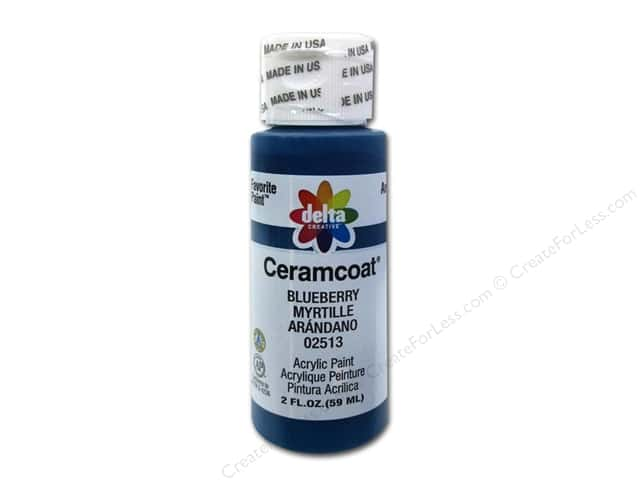 Ceramcoat Acrylic Paint by Delta 2 oz. #2513 Blueberry