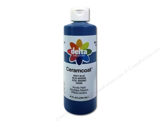 Delta Ceramcoat Acrylic 8oz Navy Blue
