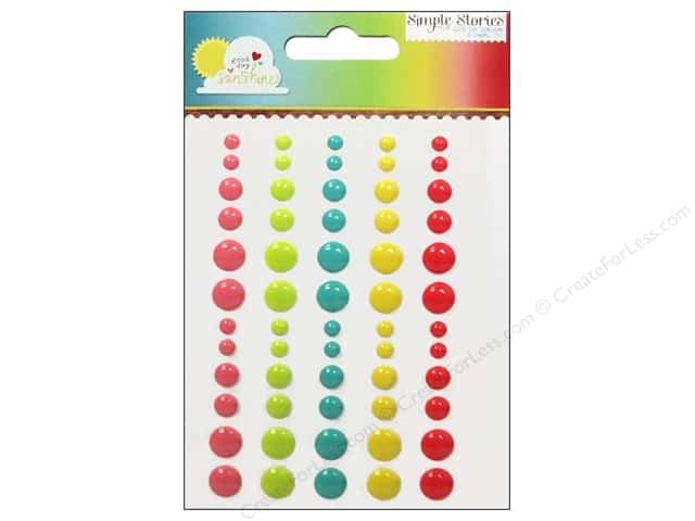 Simple Stories Sticker Good Day Sunshine Enamel Dots