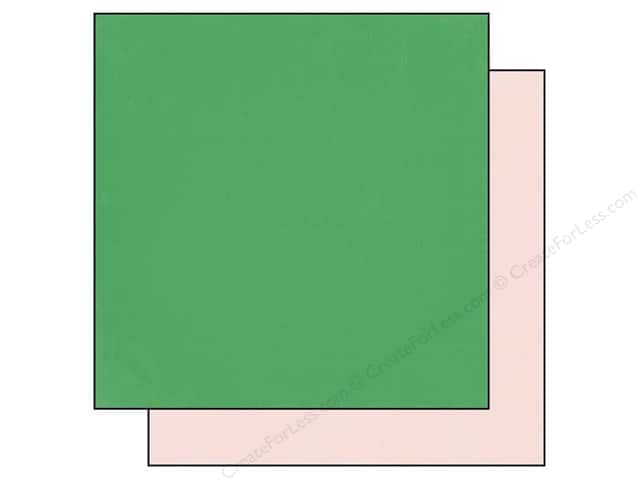Echo Park 12 x 12 in. Paper Simple Life Green/Pink (25 pieces)