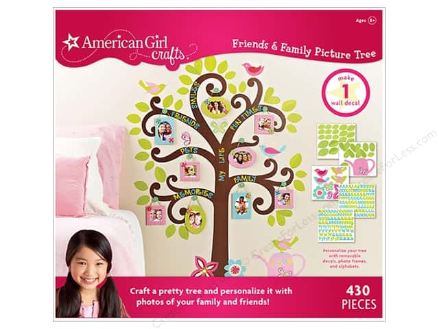 American Girl Kit Friends & Family Picture Tree