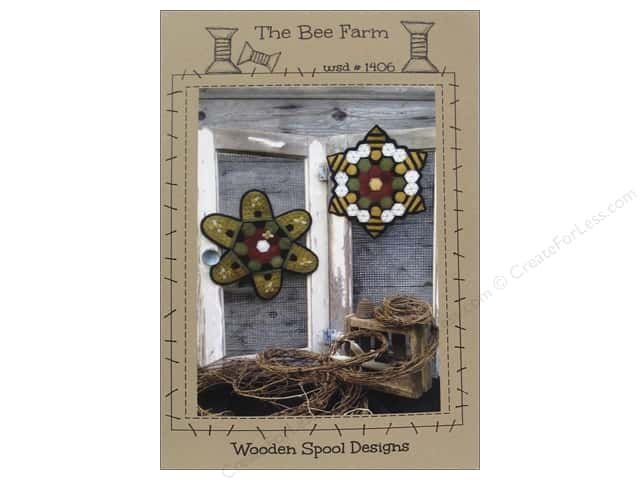 Wooden Spool Designs The Bee Farm Pattern