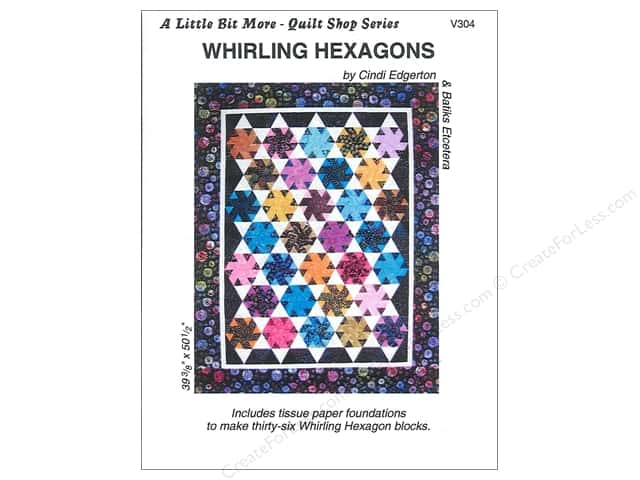 A Very Special Collection A Little Bit More Whirling Hexagons Pattern