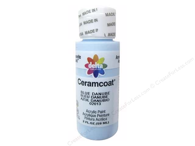 Ceramcoat Acrylic Paint by Delta 2 oz. #2013 Blue Danube