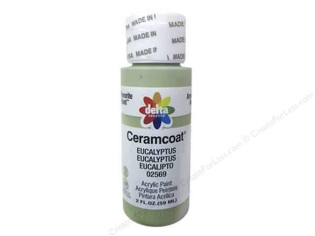 Ceramcoat Acrylic Paint by Delta 2 oz. #2569 Eucalyptus