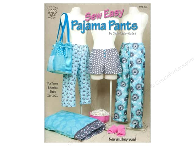 Taylor Made Sew Easy Pajama Pants Book