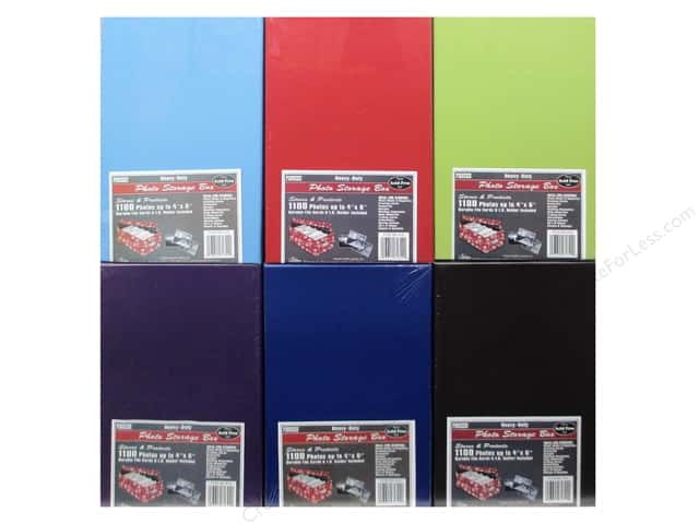 Pioneer Photo/Video Storage Box Assorted 6 Colors (12 pieces)