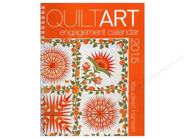 American Quilter's Society Quilt Art Engagement Calendar 2015