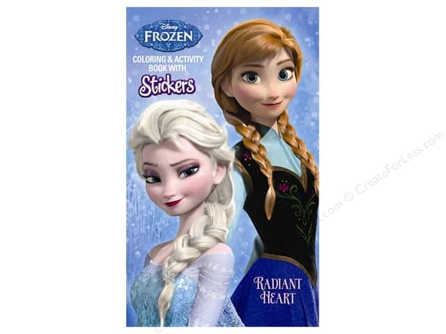 Bendon Coloring & Activity Book with Stickers Disney Frozen - Radiant Heart
