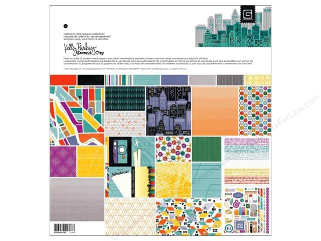 BasicGrey Collection Pack 12 x 12 in. Second City