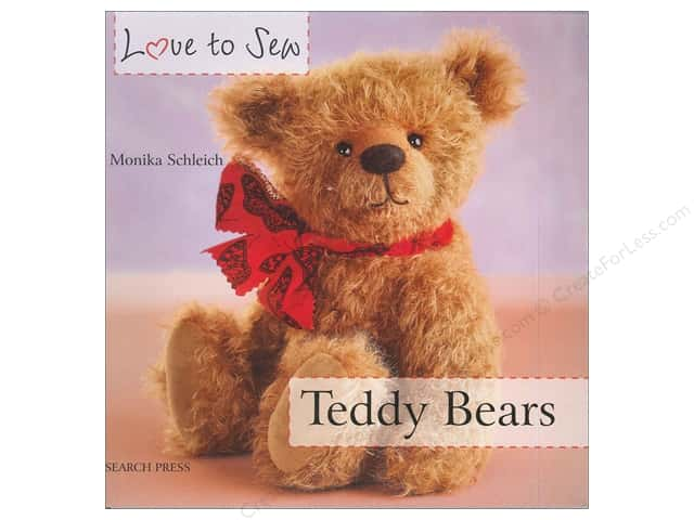 Search Press Love To Sew Teddy Bears Book