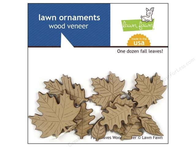 Lawn Fawn Lawn Ornaments Veneer Fall Leaves
