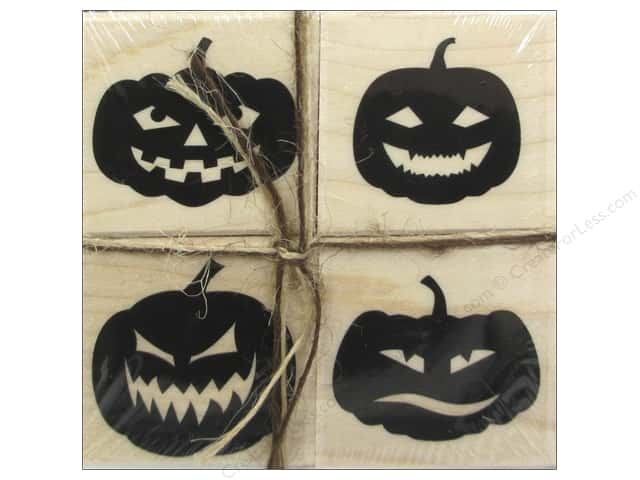 Hero Arts Rubber Stamp Set Faces For Halloween