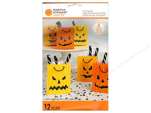 Martha Stewart Food Packaging Treat Bags Monster Pumpkin