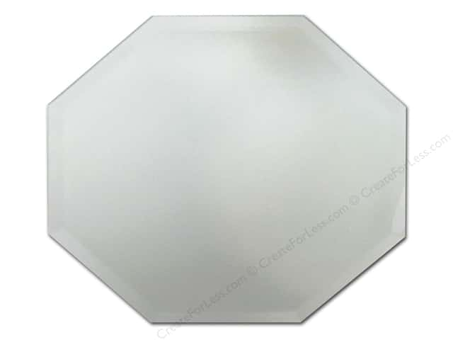 Darice mirrors octagon beveled 10 in 1 pc for Octagon beveled mirror