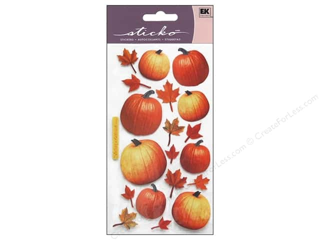 EK Sticko Stickers Autumn Pumpkins