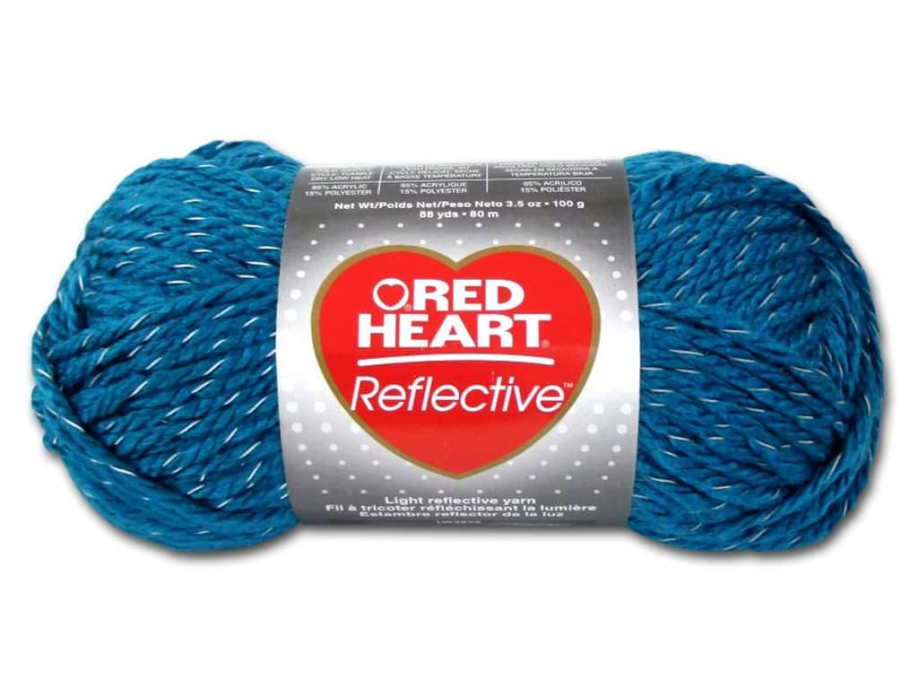 Knitting Patterns For Red Heart Reflective Yarn : Red Heart Reflective Yarn 8884 Peacock 88 Yd eBay