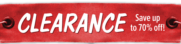 Clearance - Save up to 70% off!