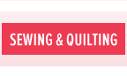Clearnace - Sewing & Quilting