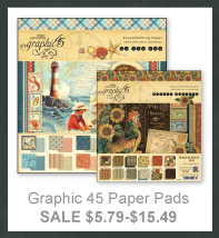 Scrapbooking Sale - Graphic 45 Paper Pads