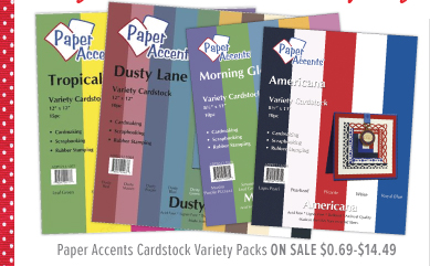 Paper Accents Cardstock Variety Packs