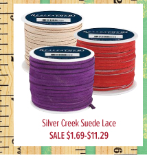 Silver Creek Suede Lace