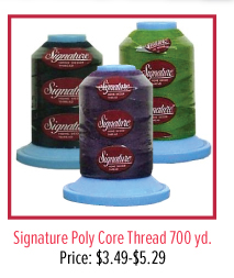 Signature Poly Core Thread 700 yd.