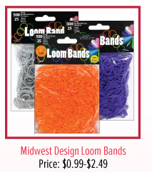 Midwest Design Loom Bands