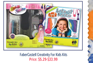 FaberCastell Creativity For Kids Kits