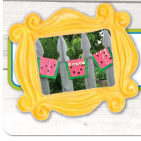 Think Crafts - Sweet Watermelon Banner