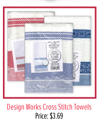 Design Works Cross Stitch Towels